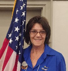 District 14 President Joyce Cavins