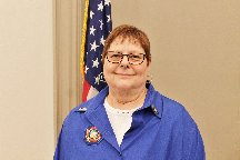 District 15 President Lynn Smith