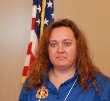 District 9 President Lynn Bankard